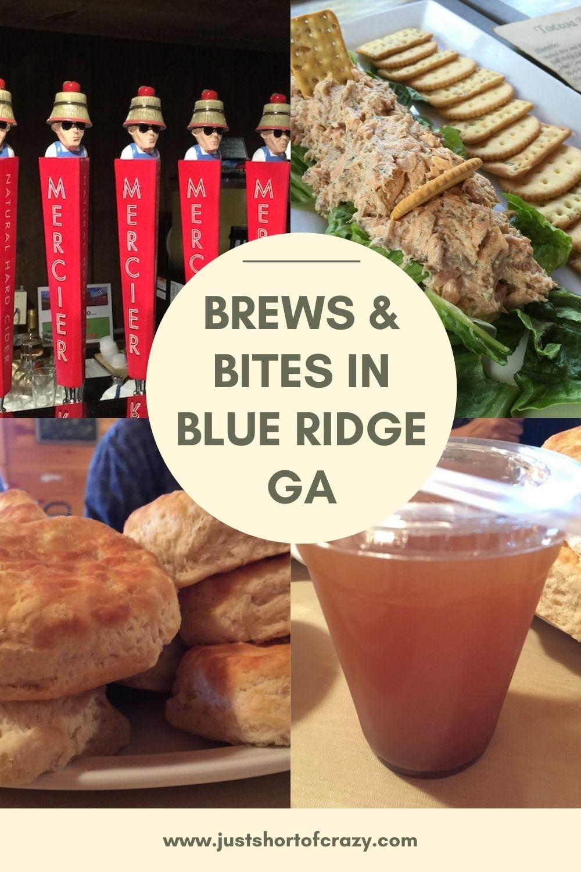 BREWS BITES IN BLUE RIDGE GA