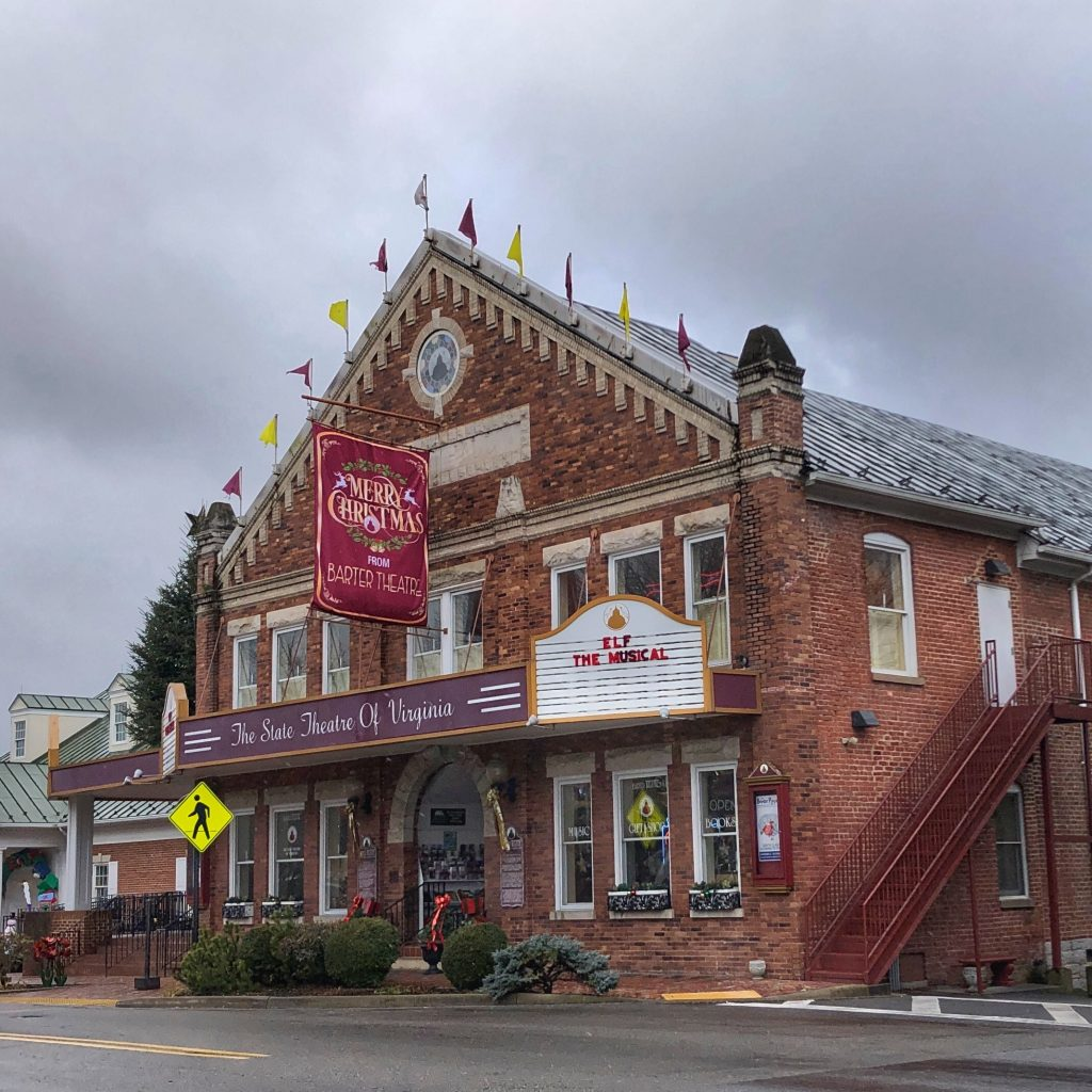 Barter Theater in Abingdon VA is Virginia's State Theater