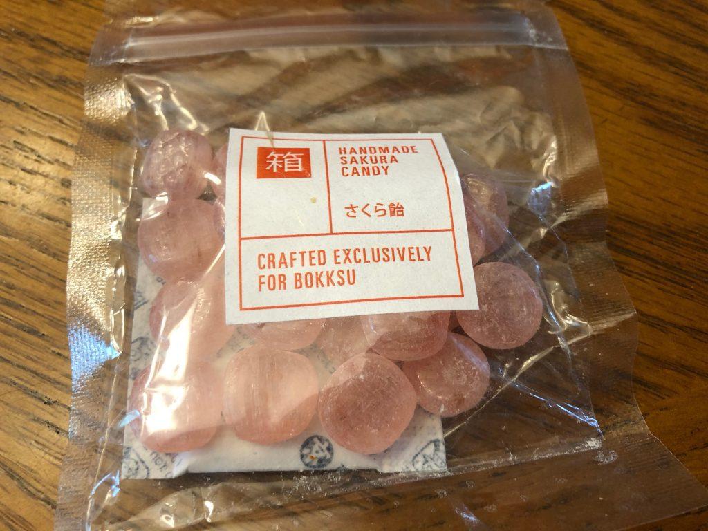 Handmade Sakura Candy Bokksu Box