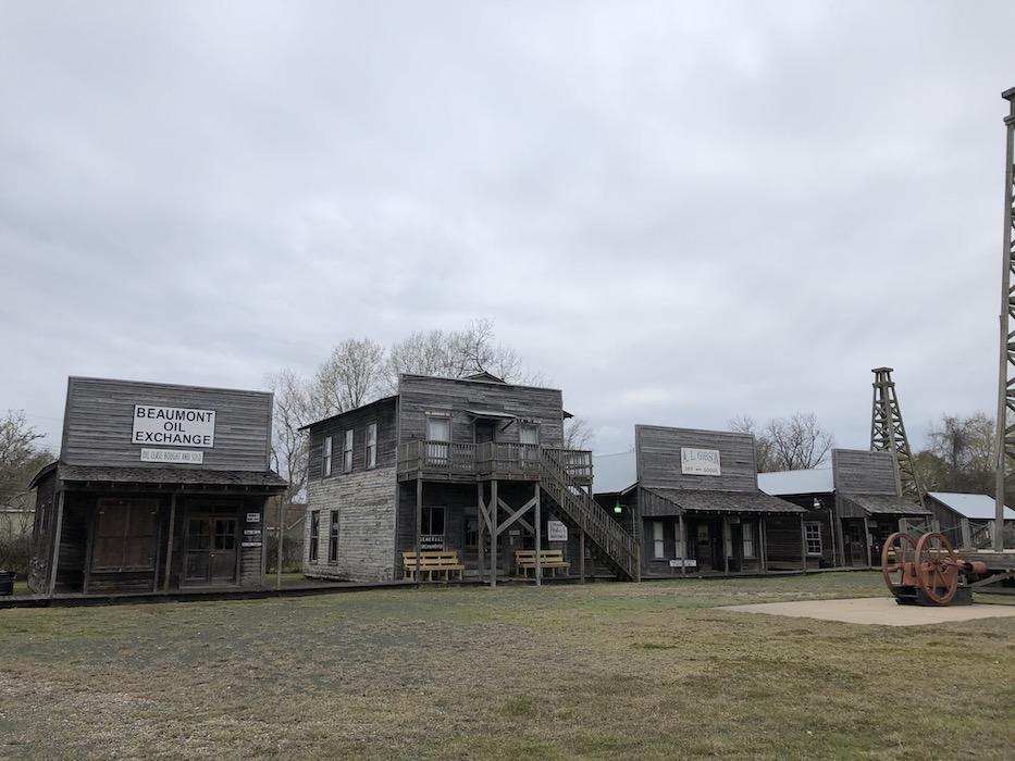 Boom town museum near beaumont tx