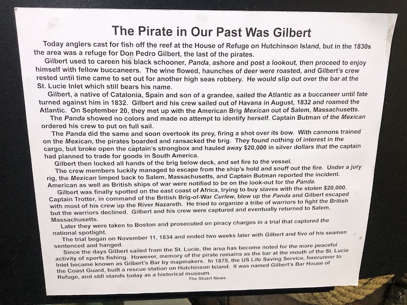 Brief history of Pirate Don Pedro Gilbert