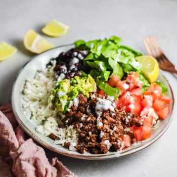 Ground Turkey Bowl Recipe