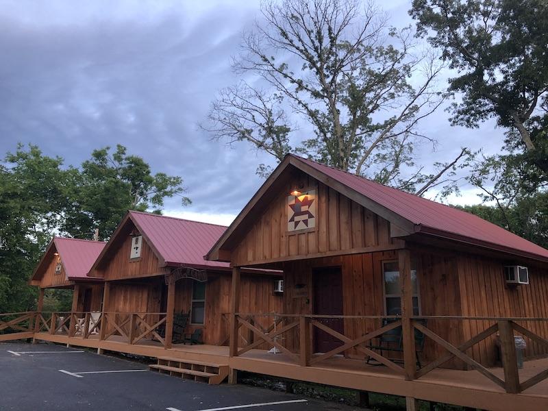Cabin view at kinfolk