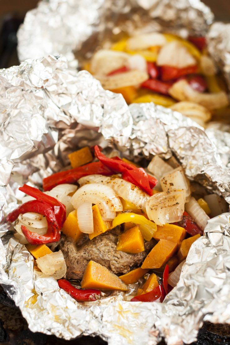 Campfire Burgers--Gluten Free with L.B.