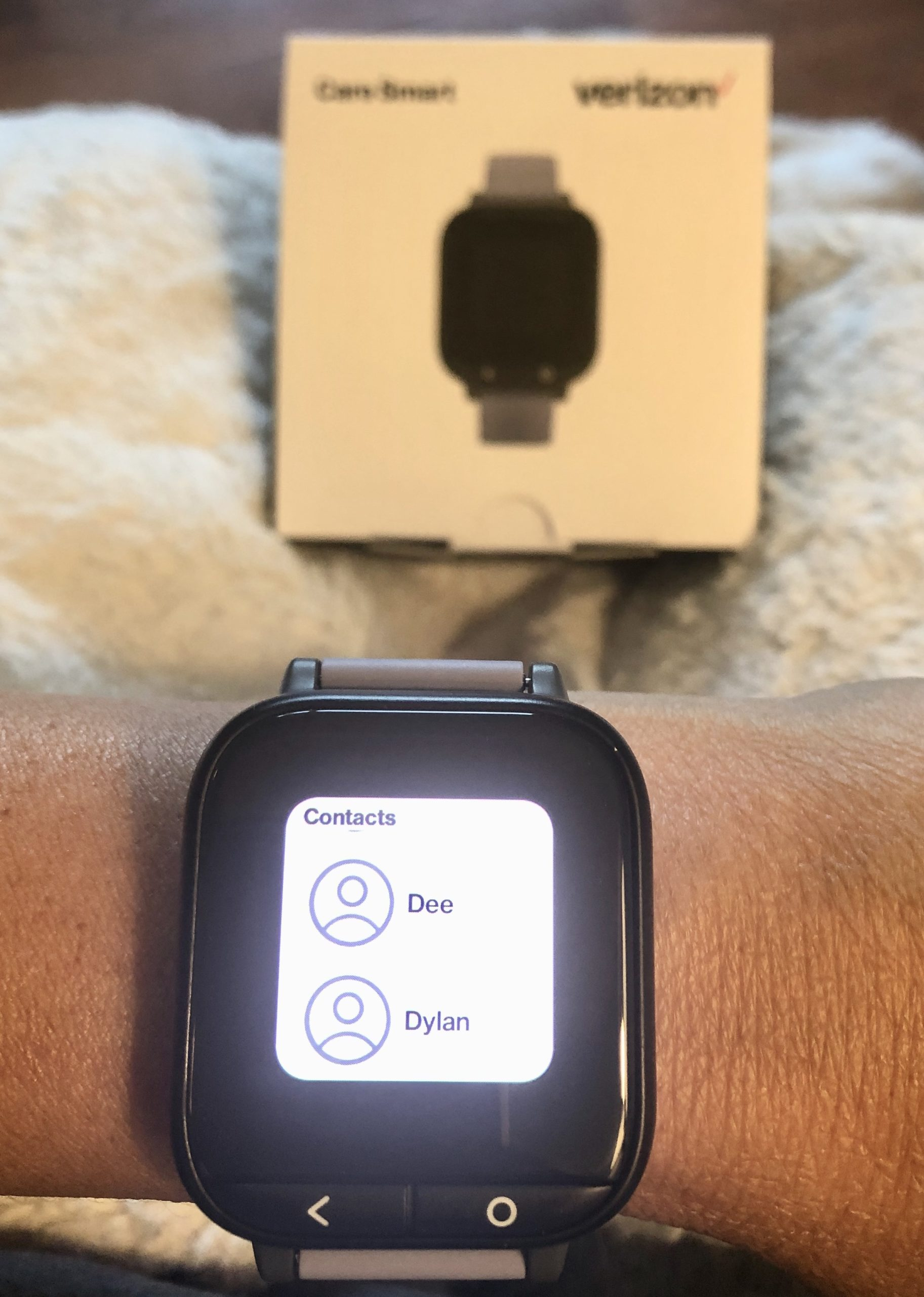 Care Smartwatch phone numbers
