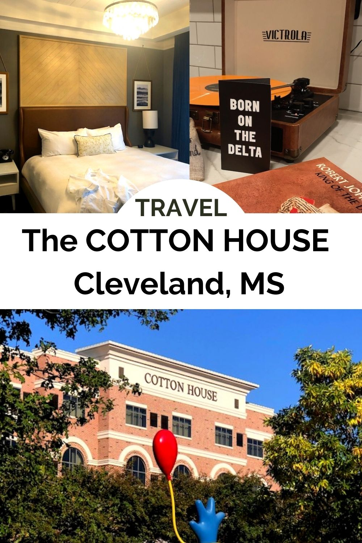 Cotton House pin