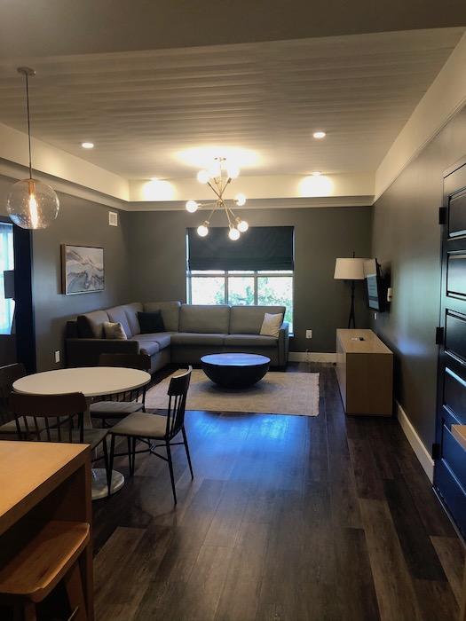 Cotton House Suite Sitting Area