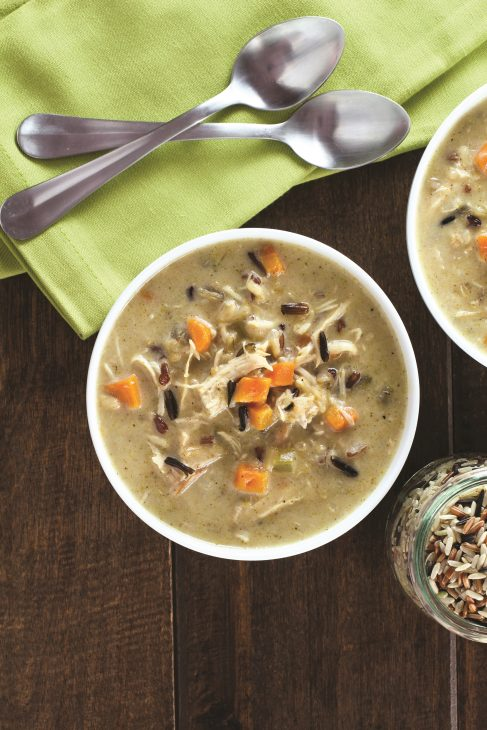 Creamy Turkey and Wild Rice Soup_1502