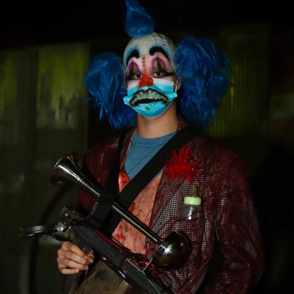 Monster Clown at Dead Man's Farm