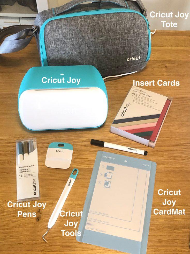 Cricut Joy Card Making Supply LIst