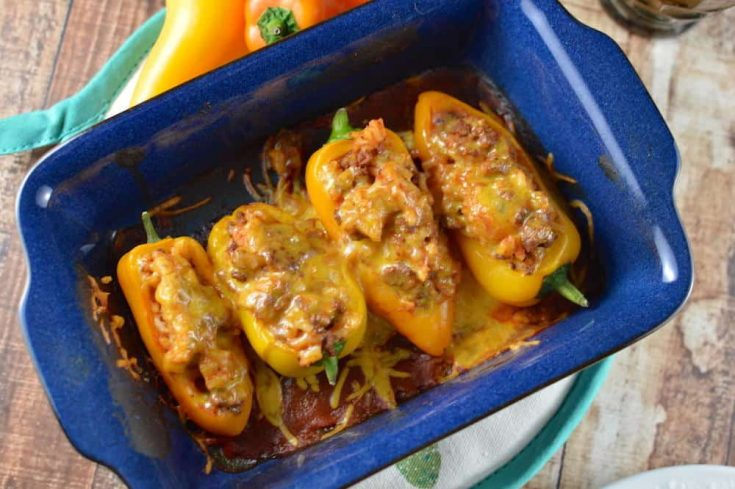 Stuffed Mini Peppers to Knock Your Socks Off