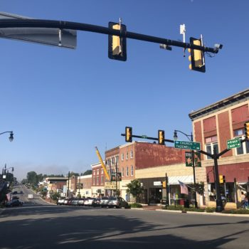 Downtown street wytheville