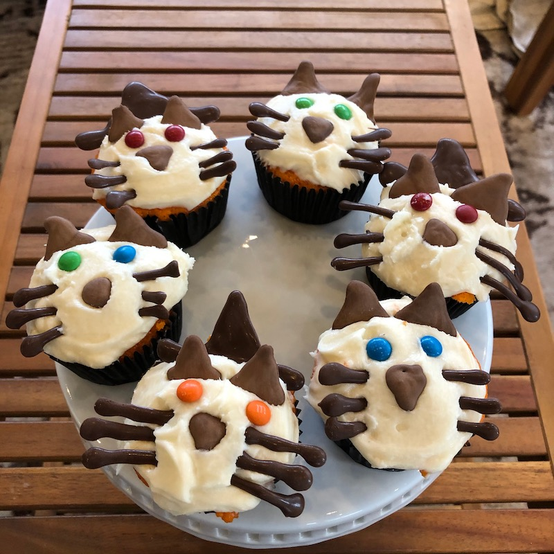 Easy Halloween Cupcakes 5