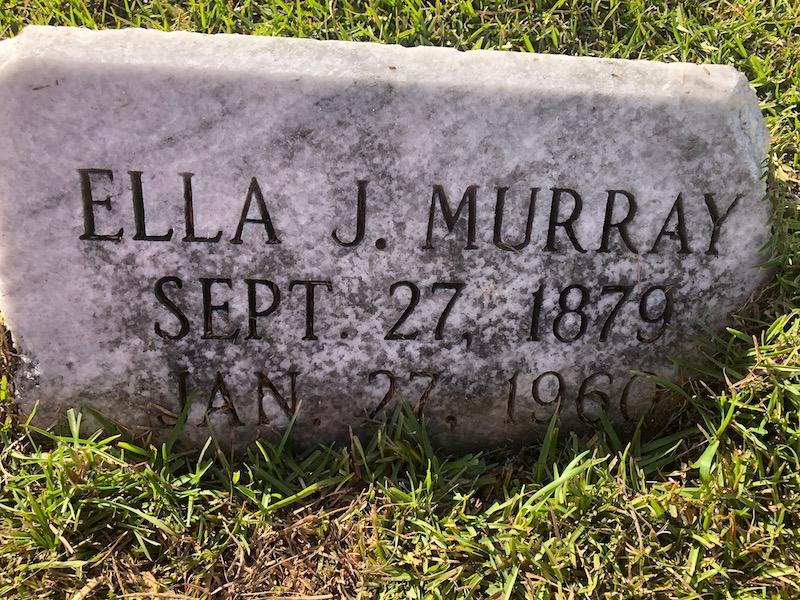 Ella Murray Tombstone