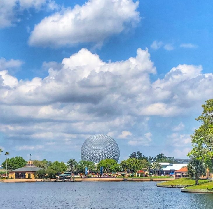 Epcot at Walt Disney World in Orlando Florida