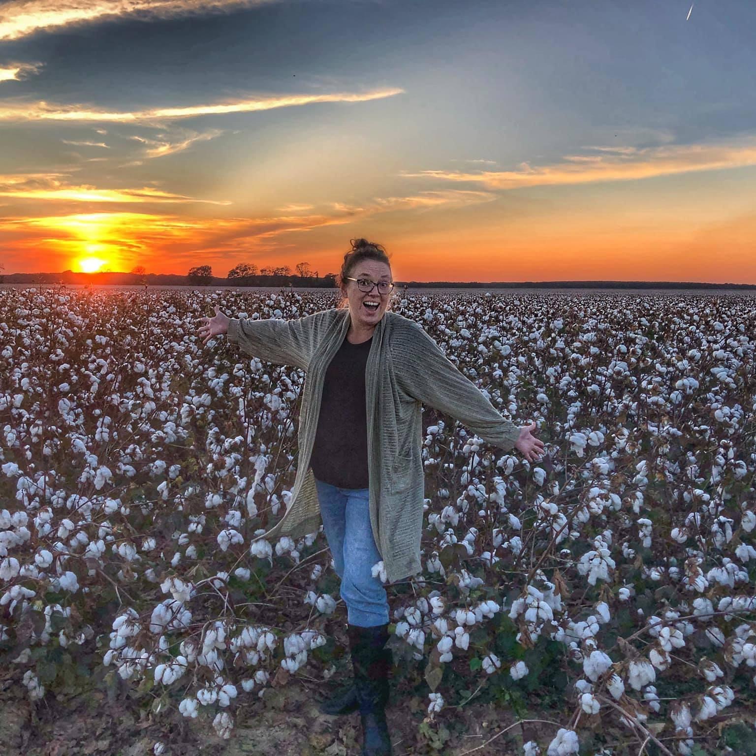 Favorite Portrait taken in cotton field in Greenwood MS by Ruth Sykes of LRC Media