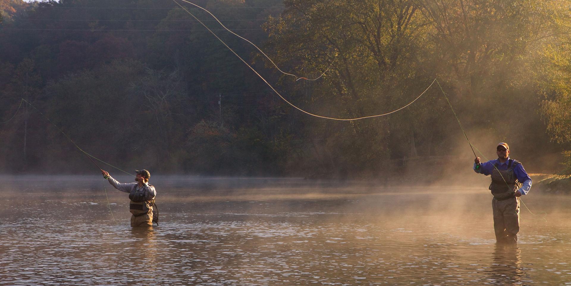 Fly Fishing Blue Ridge