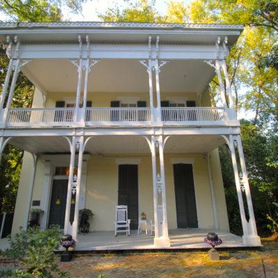 Front of McRaven House