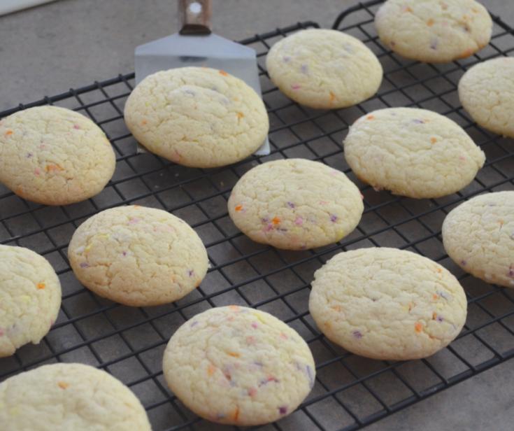 Funfetti Jello Cookies