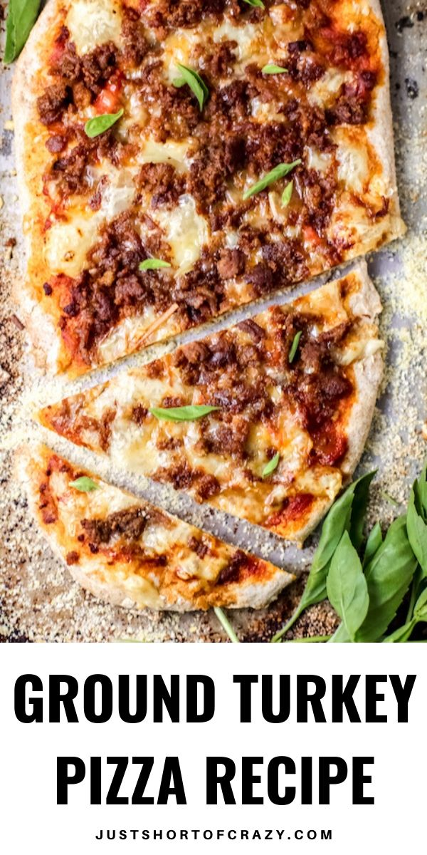 GROUND TURKEY PIZZA RECIPE PIN