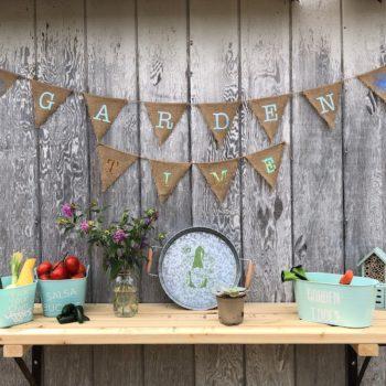 garden decor with cricut joy