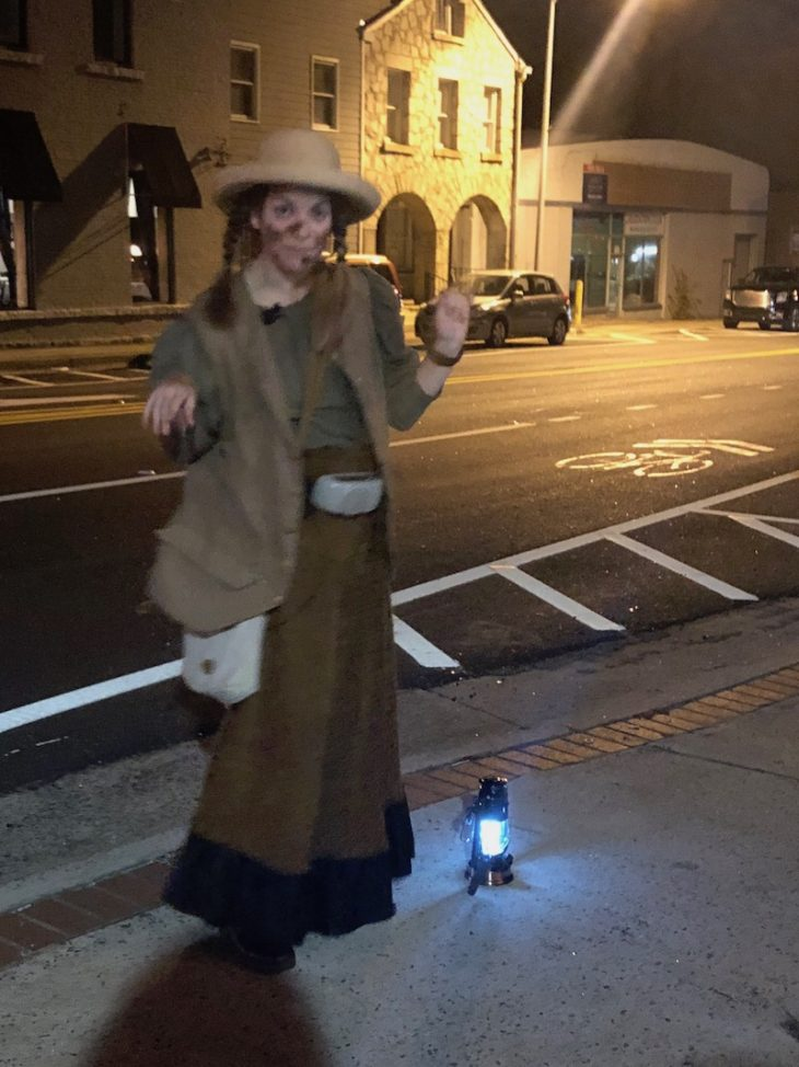 Lawrenceville ghost tour