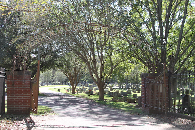 Glenwood Cemetery Entrance