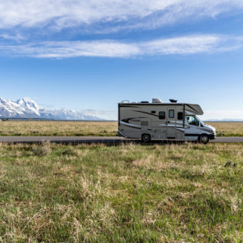 RV at the Grand Tetons
