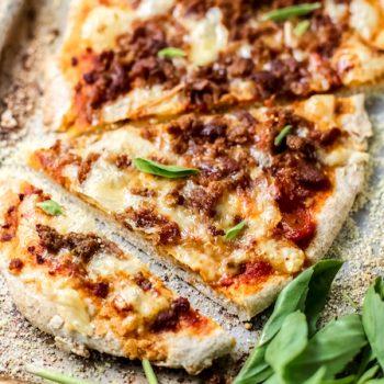 Ground Turkey Pizza 2