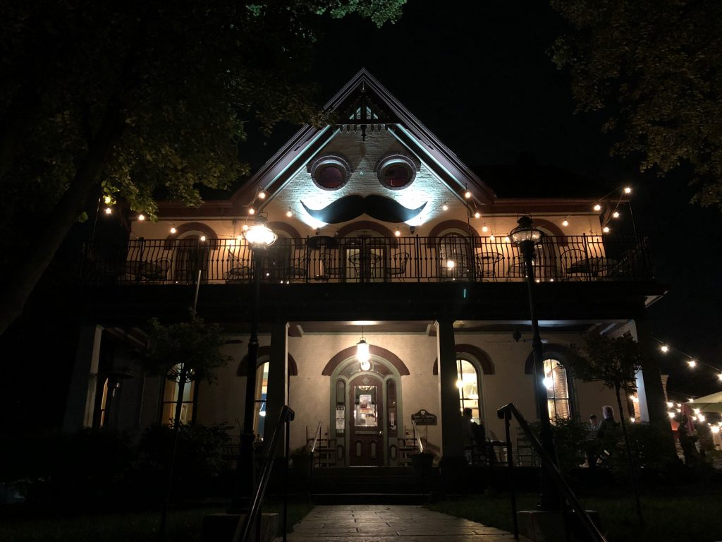 Harmony inn in the dark