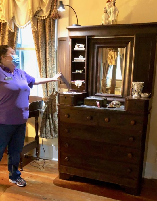 Haunted Dresser Mary Elizabeth McRaven Home
