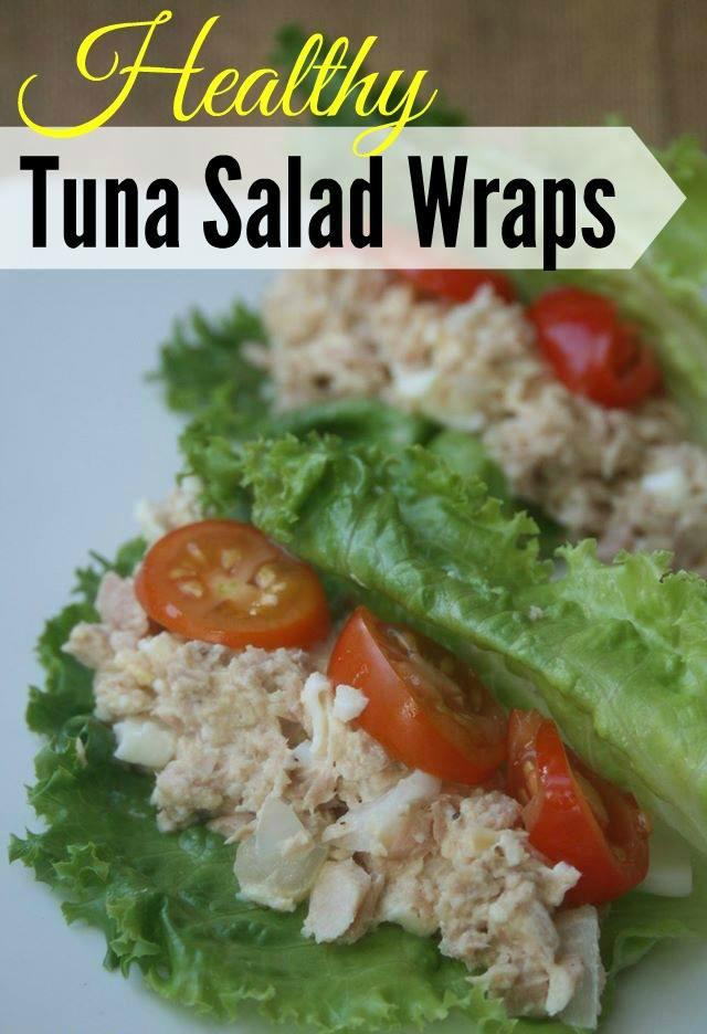 Weight Watchers Lunch Healthy Tuna Salad Wraps