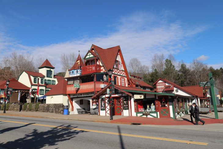 Adorable Bavarian town of Helen GA