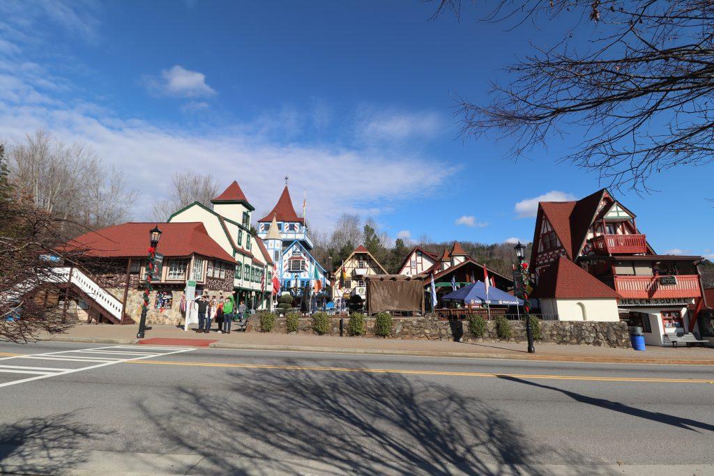 Spending time in the german-esque town of helen ga no passport required