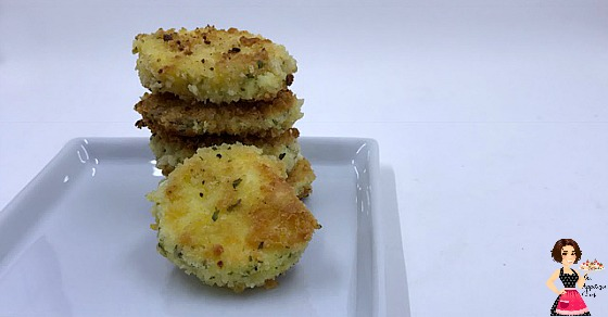 Herbed Goat Cheese Fritters - The Appetizer Chick
