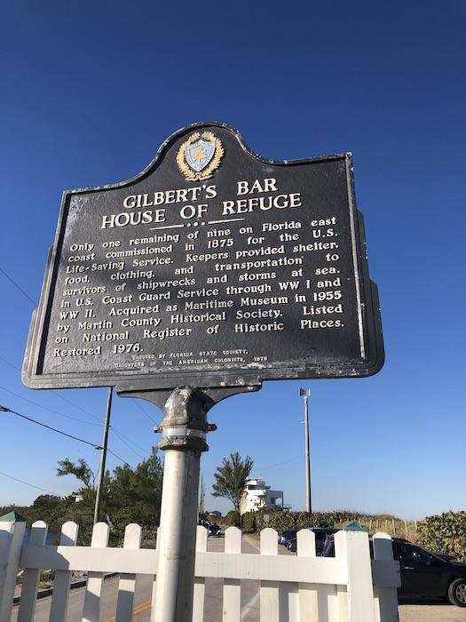 House of Refuge historical marker sign