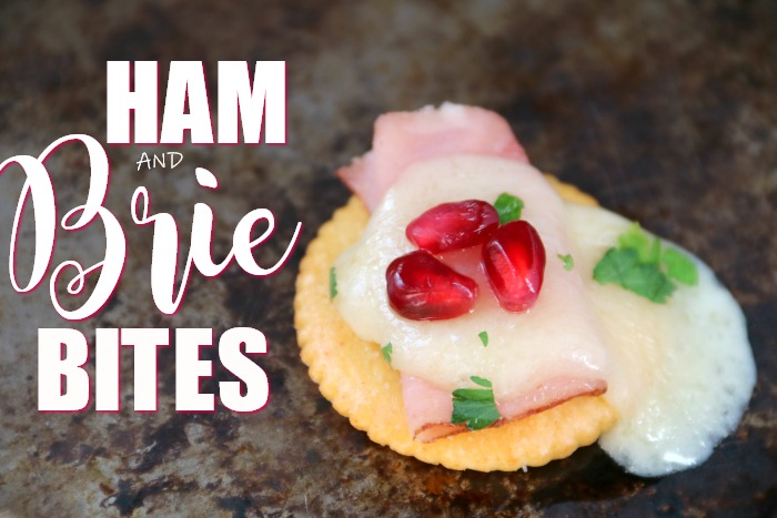 Ham and Brie Bites - Appetizer for Holiday Entertaining