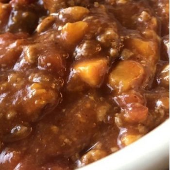 INSTANT POT TURKEY & SWEET POTATO CHILI RECIPE