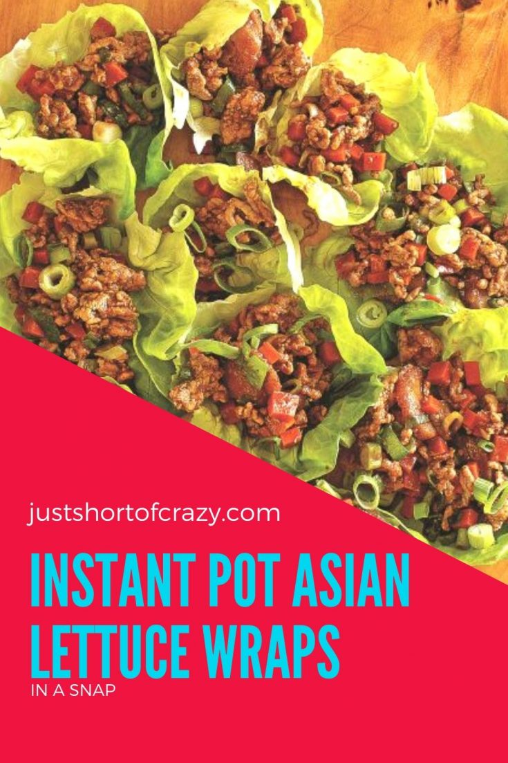 Instant Pot Asian Lettuce Wraps