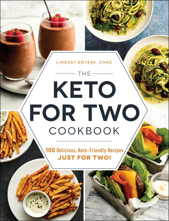 Keto for Two Cookbook cover