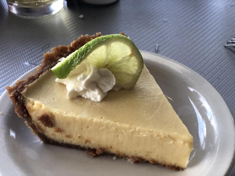 Key Lime Pie at Calhoun's