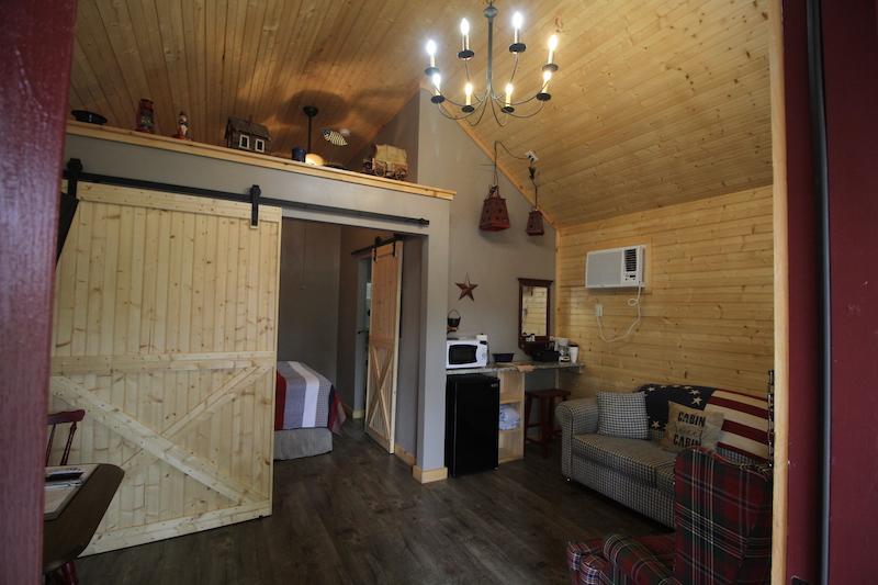 Kinfolk Farm Cabins Inside