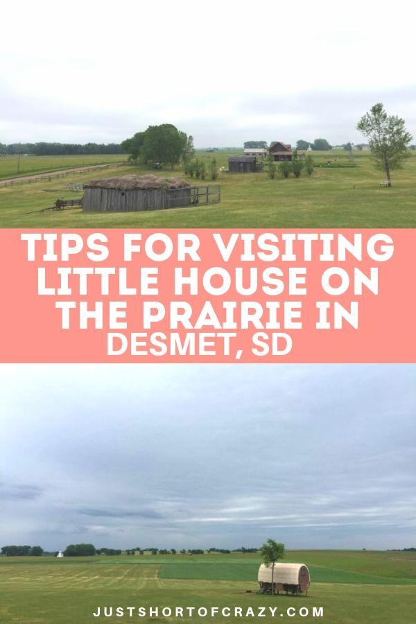 LIttle house on the prairie in de smet sd