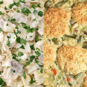Leftover Turkey Casserole Recipes title image