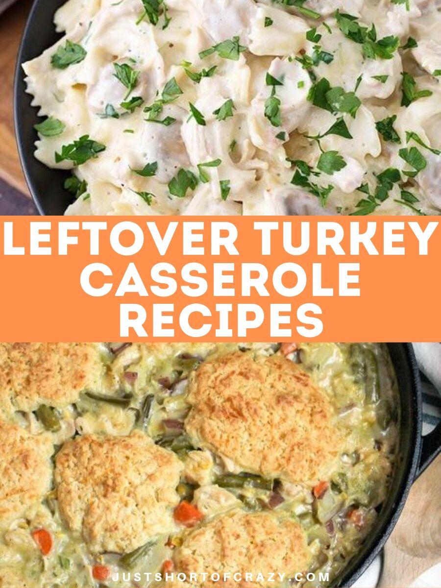 Leftover Turkey Casserole Recipes