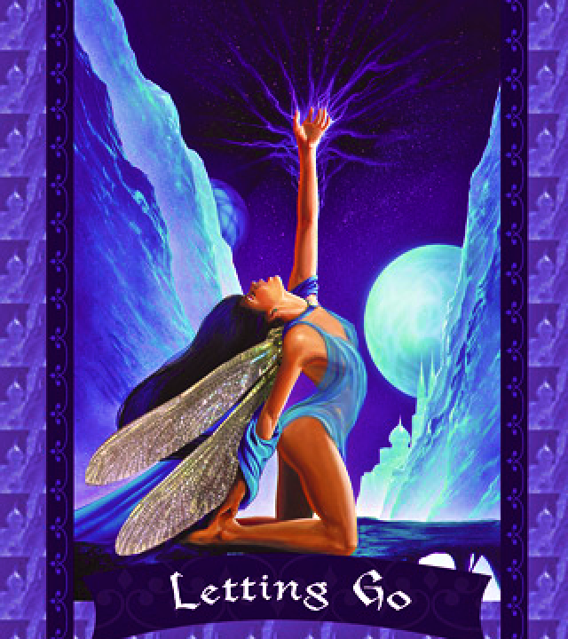 Letting Go Oracle Card