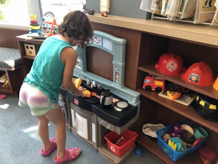 Ludington Public Library childrens area