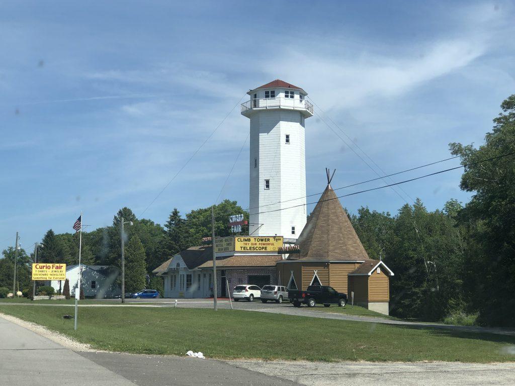 Curio Lighthouse Climb