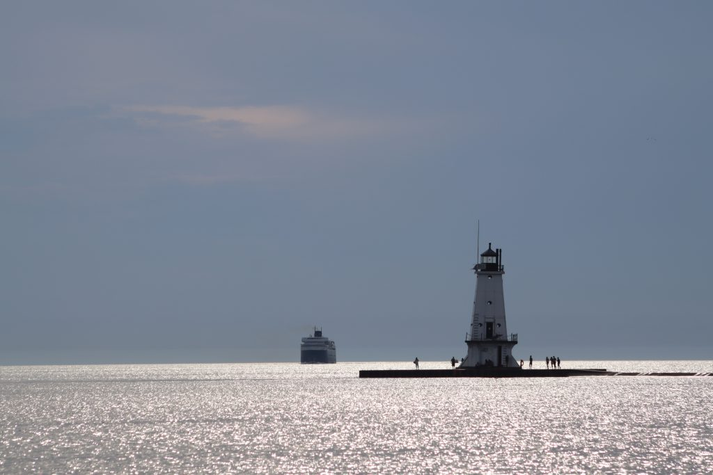 Lighthouse and Badger