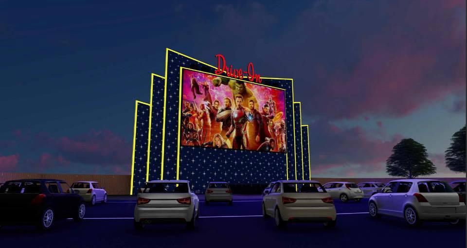 LoCo Drive in movie theater